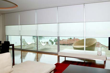 Glamour Blinds Double Roller Blinds